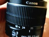 Canon 18-55 mm lens